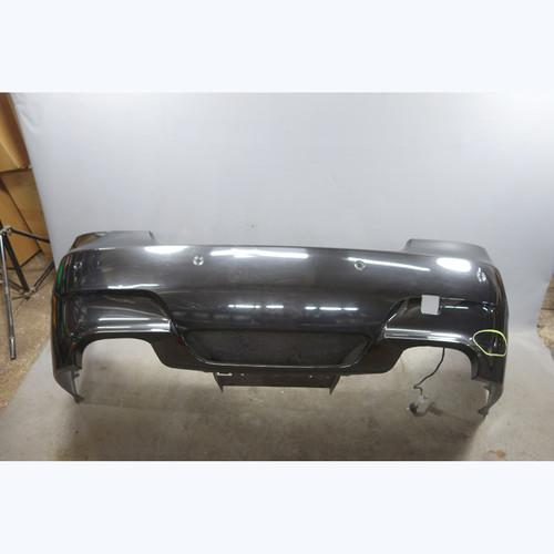 2006-2010 BMW E60 M5 ///M Rear Bumper Cover Trim Black Sapphire Parking PDC OEM - 28587
