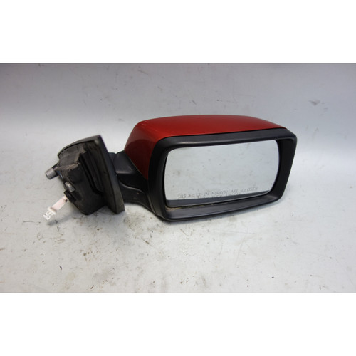 Damaged 2004-2009 BMW E83 X3 SAV Right Outside Side Mirror Flamenco Red OEM - 28600