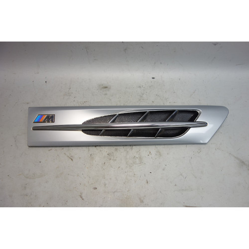 1998-2002 BMW Z3 M Roadster Coupe Right Side Hood Cowl Grille Arctic Silver OE - 29552