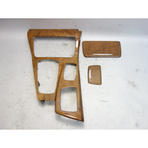 2011-2013 BMW F10 5-Series Early Front Center Console Wood Trim Gloss Ash OEM - 29641