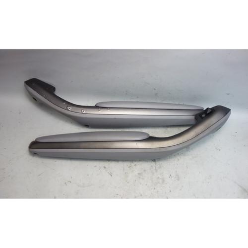 2001-2006 BMW E46 M3 Factory Front Side Armrest Pair Titan Grey Napa Left Right - 30112