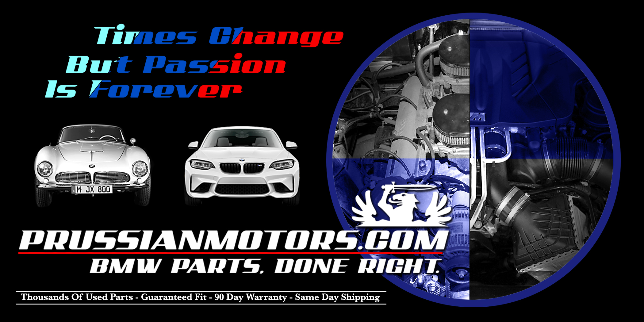 Our used BMW parts shop