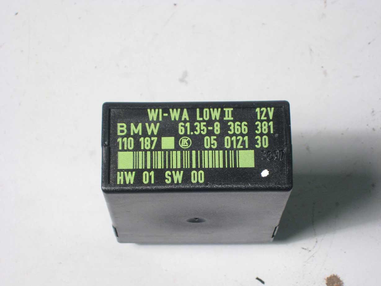 BMW E34 E36 Z3 Wisch Wasch Steuergerät 8 366 381 WI-WA LOW II windshield wiper