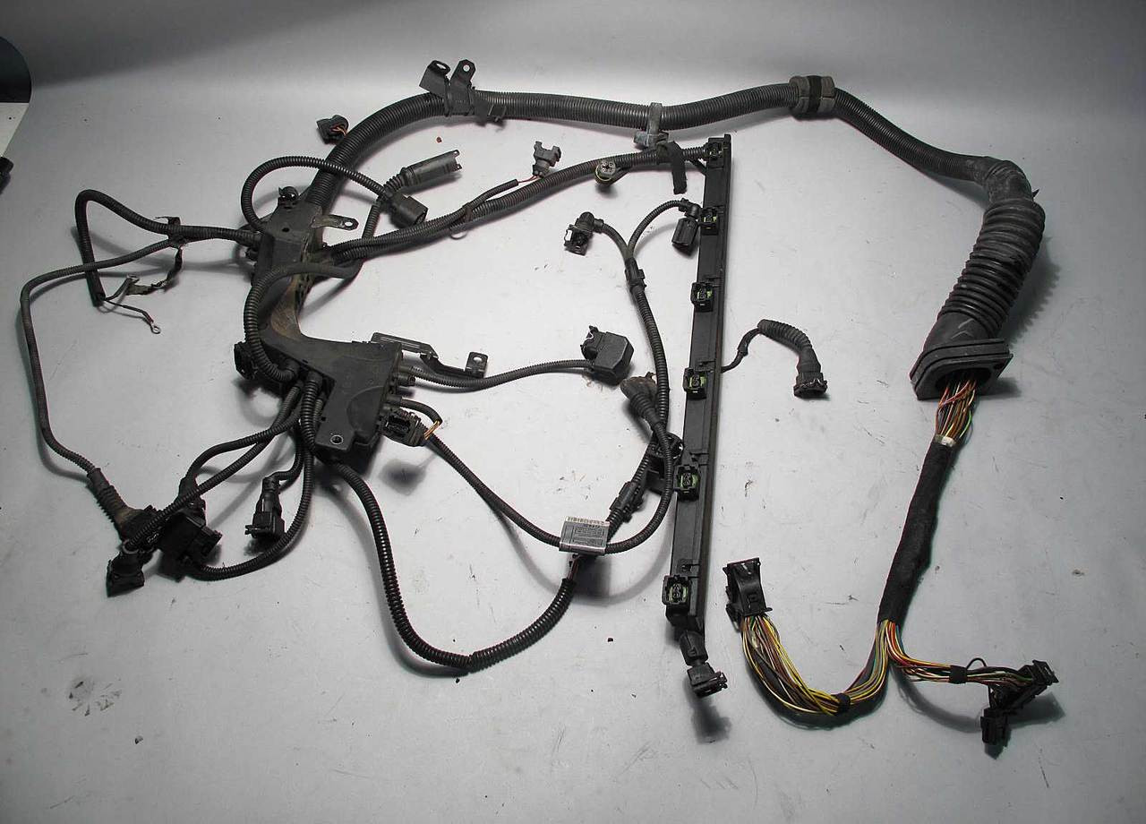 BMW E53 X5 3.0i M54 6-Cylinder Engine Wiring Harness ...