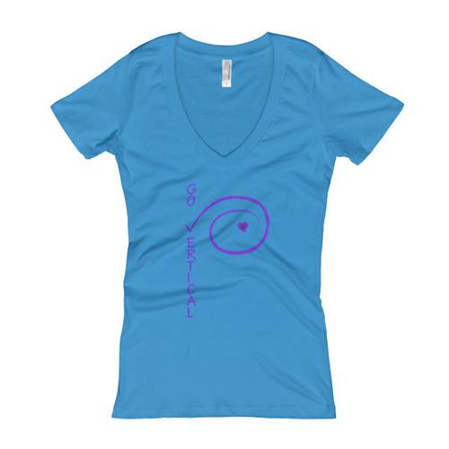 Women's V-Neck T-shirt - 186
