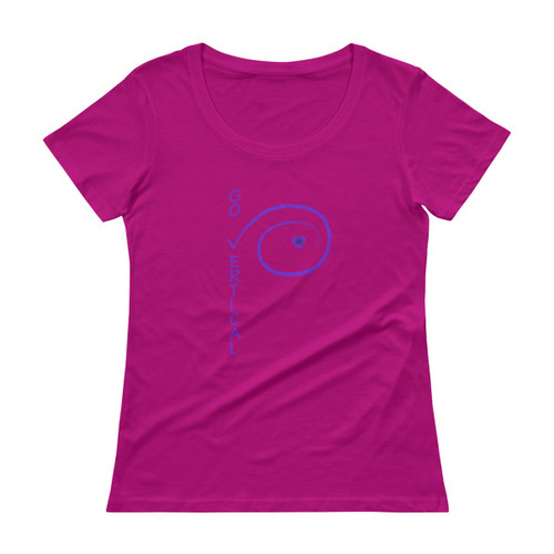 Ladies' Scoop neck T-Shirt - 220