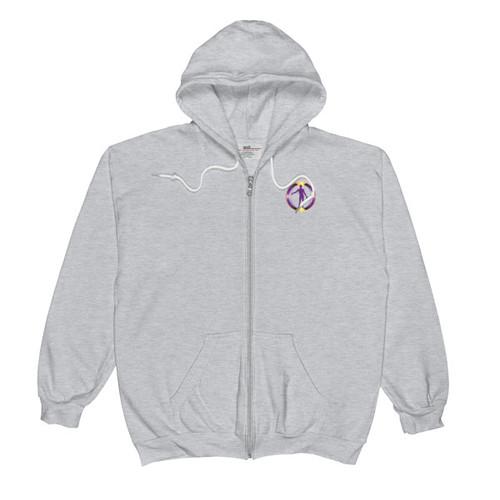 Unisex  Zip Hoodie -226