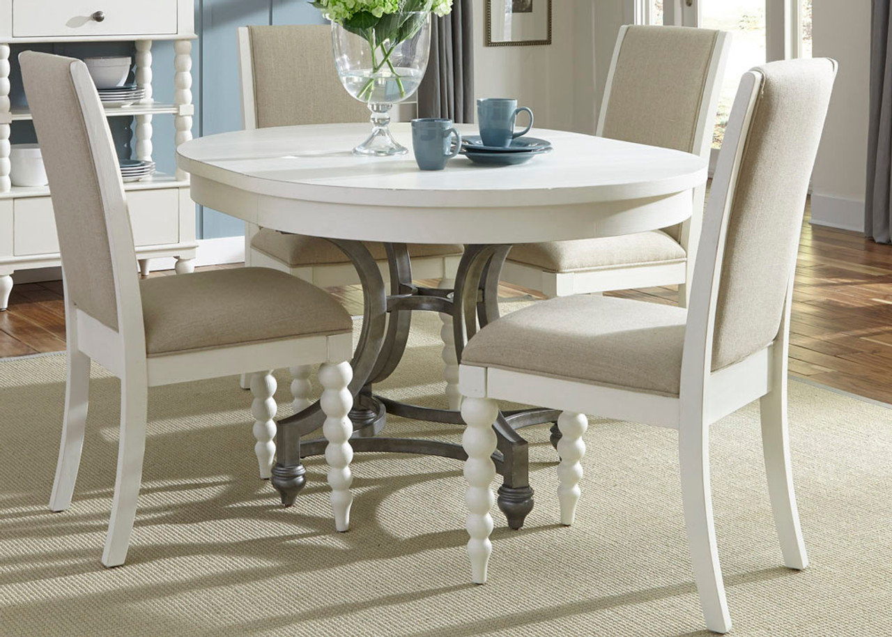The Harbor View II Opt 5 Piece Round Table Set (631-DR-O5ROS ... on kitchen dining chairs, antique kitchen tables and chairs, kitchen table with chairs, oak kitchen chairs, large kitchen tables and chairs, red chrome kitchen chairs, kmart kitchen tables and chairs, kitchen tables without chairs, quality kitchen tables and chairs, furniture sofas and chairs, furniture kitchen dinette sets, amish kitchen tables and chairs,