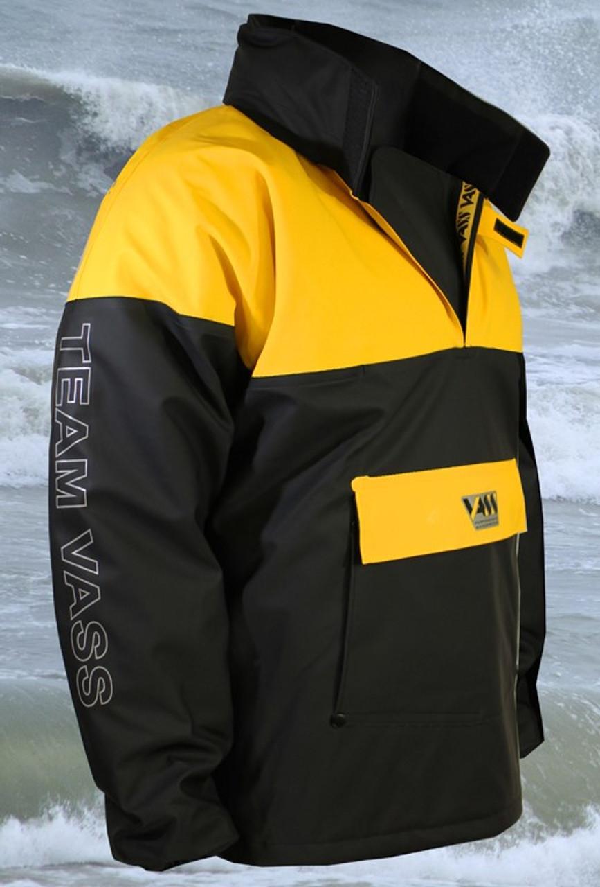 show original title Details about  /Vass team vass 350 yellow//black winter sweater//clothing//fishing