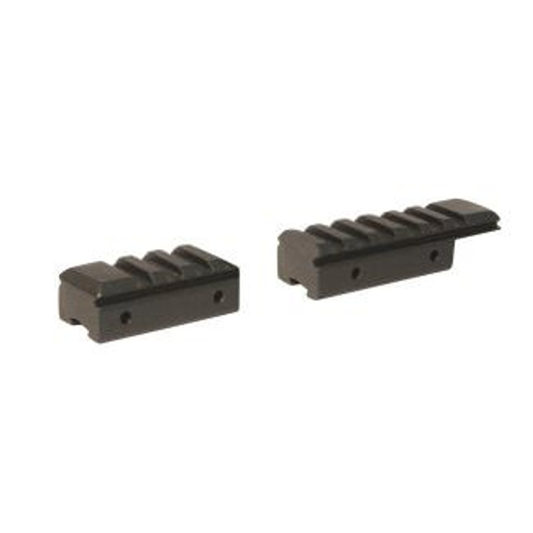 Keens Tackle and Guns Stock The Deben 2 Piece Rifle Adapter Picantiny 11mm 3/8 - 0.20kgs