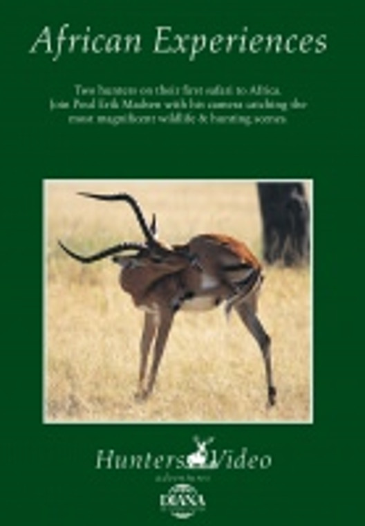 Keen's Tackle & Guns Stock The Tanzania African Experience DVD, 54 Minutes.