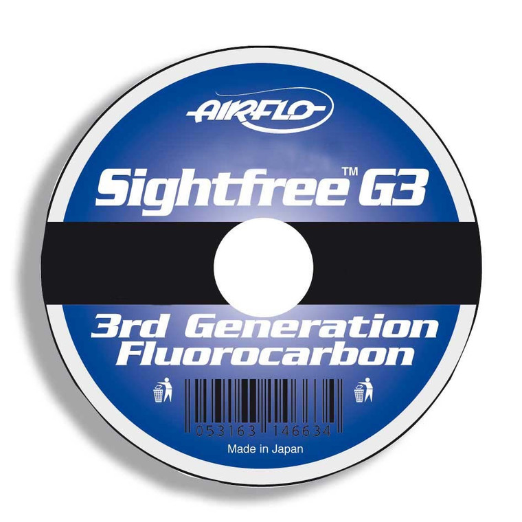 Keen's Tackle & Guns Stock the Airflo Sightfree G3 Fluorocarbon Fly Leader with extremely good knot strength.