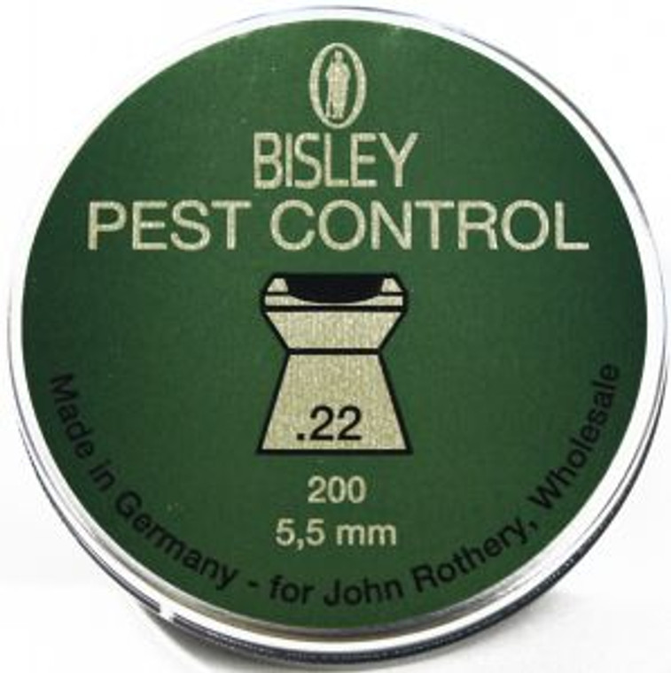 Bisley Pest Control Hollow Point Pellets
