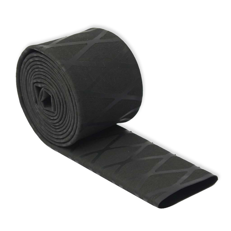 Diamond Crosshatch X-Weave Shrink Tube- Black