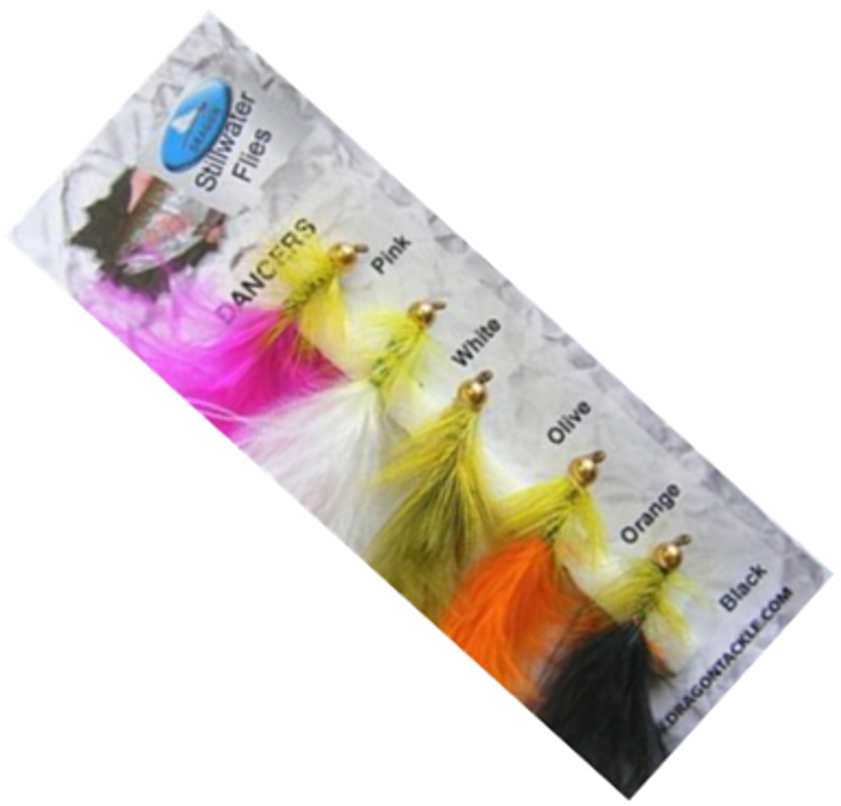 Grando Tackle Dancers Trout Fly Selection