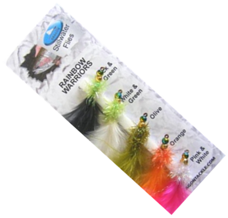 Grando Tackle GH Rainbow Warriors Trout Fly Selection