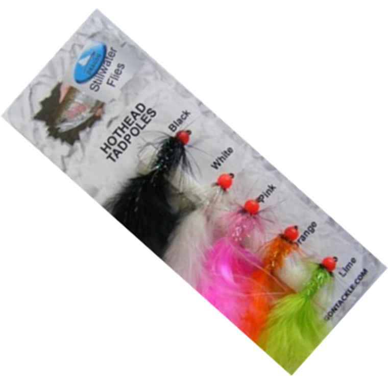 Grando Tackle Hothead Tadpoles Trout Fly Selection