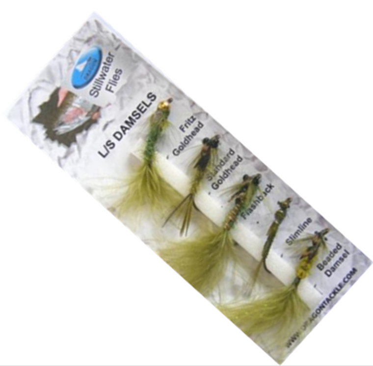 Grando Tackle L/S Damsels Trout Fly Selection