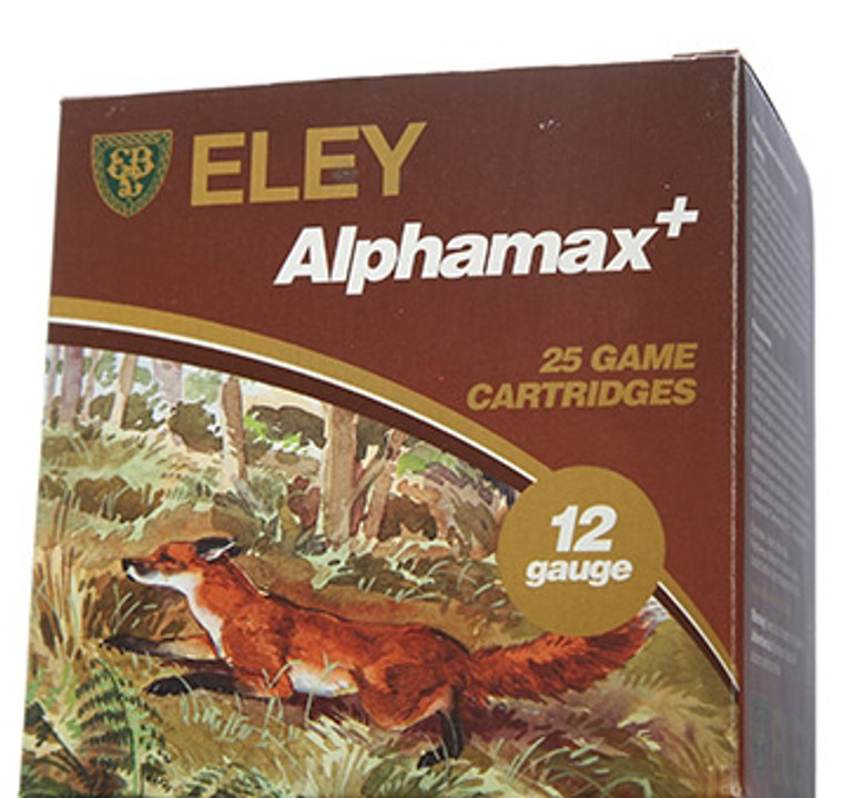 Eley Alphamax Game 36 gram 12 Bore Shotgun Cartridges 2.75 inch