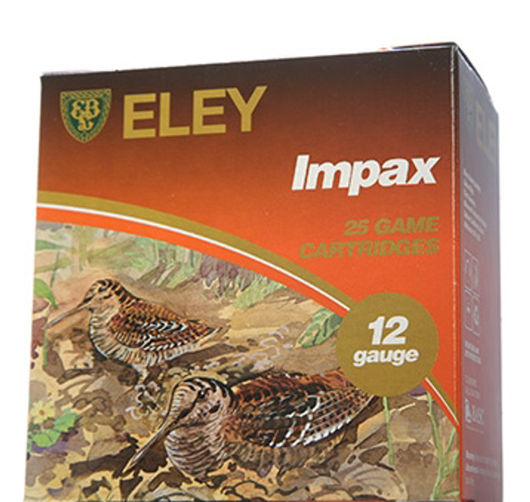 Eley Impax Game 12 Bore 28 gram Fibre Shotgun Cartridges 2.5 inch