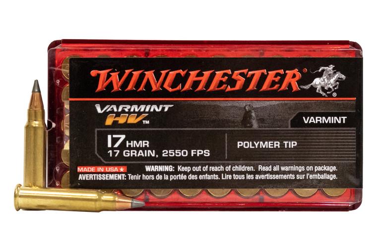 Winchester .17HMR Ballistic Tip Ammunition