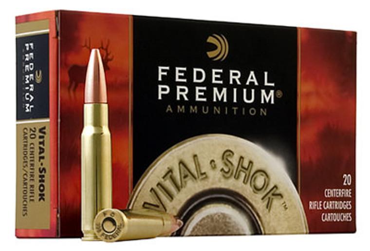 Federal Vital Shok Ballistic Tip Ammunition
