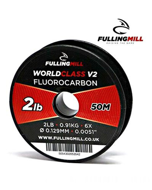 Fulling Mill Fluorocarbon Fly Leader 50 metres