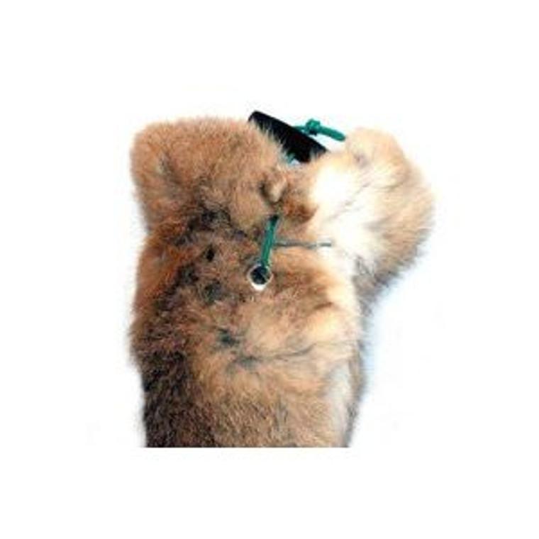 Hand Throwing 1/2 lb Dummy - Rabbit Fur Dog Dummy