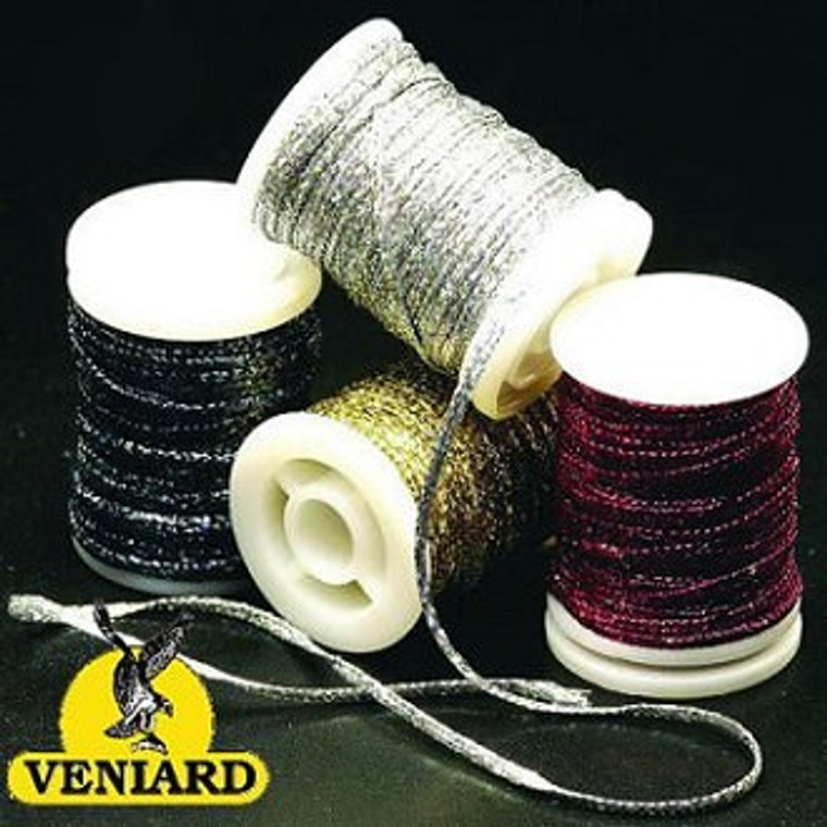 Holographic Flat Braid Fly Tying Material