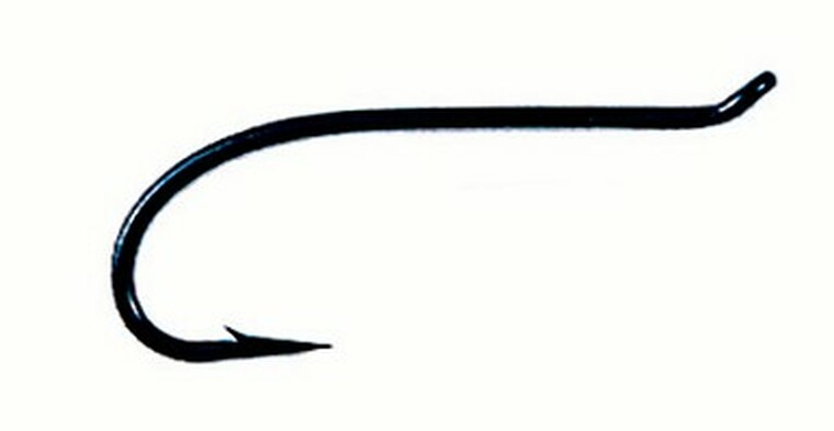 Kamasan B180 Low Water Salmon Single Fly Tying Hooks box of 25
