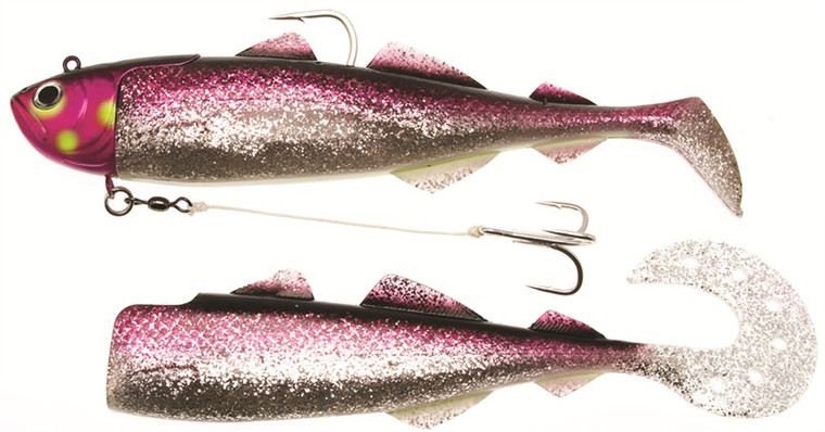 Kinetic Magic Minnow WE Crazy Daisy Rainbow 400g Extra Pack - Keen's Tackle and Guns