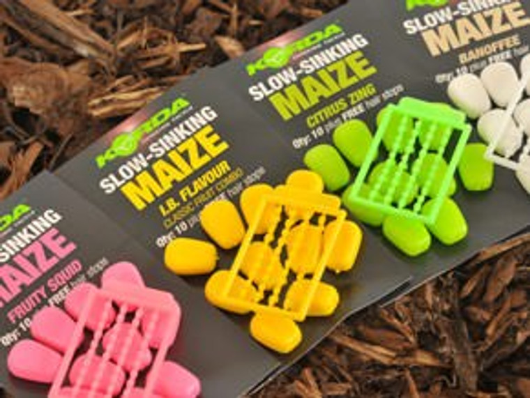 Korda Fake Food Slow Sink Maize Artificial Carp Fishing Bait