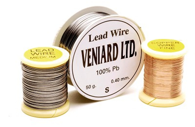 Veniard Lead Wire Fine or Medium Fly Tying Material