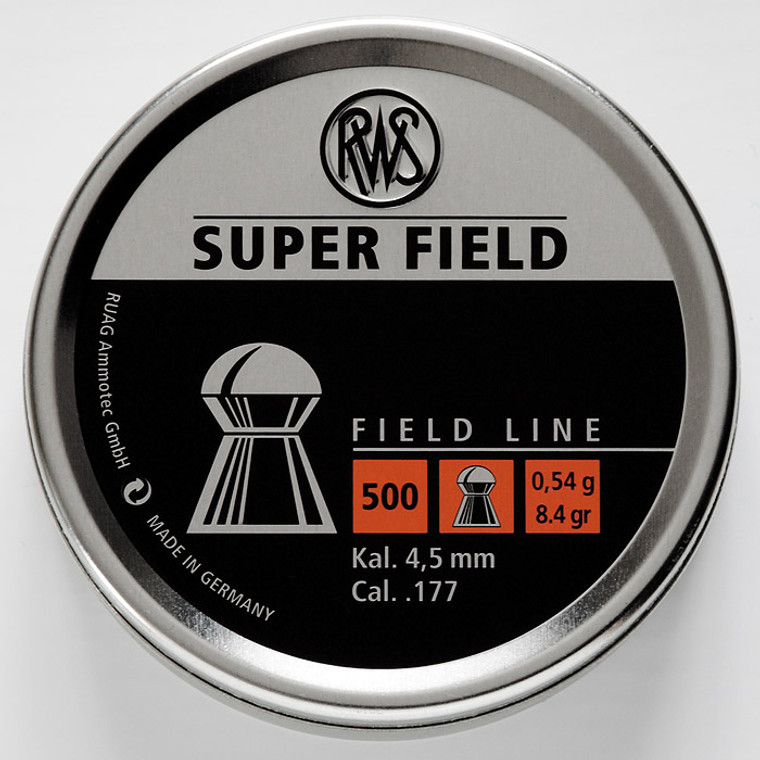 RWS SuperField Dome Pellets