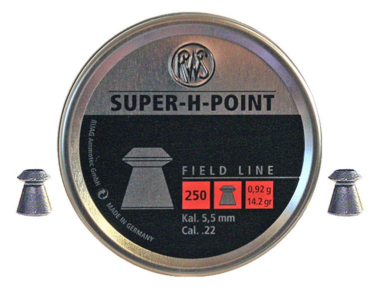 RWS Super-H-Point Hollow Point Pellets