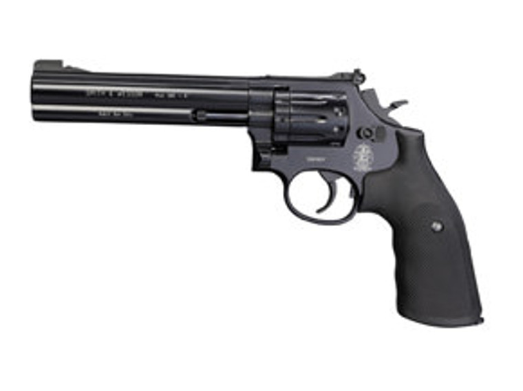 "Smith & Wesson 586 (4"",6"") Black Pistol"