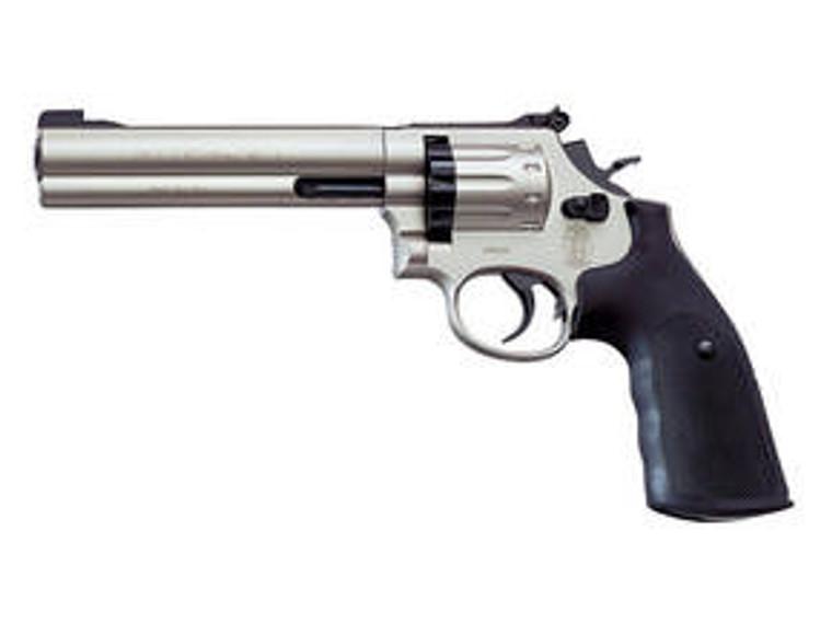 "Smith & Wesson 686 (4"",6"") Nickel Pistol"