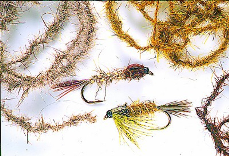 Soft Twisted Dubbing Fly Tying Material
