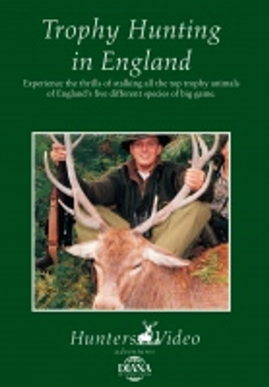 Trophy Hunting in England DVD - England