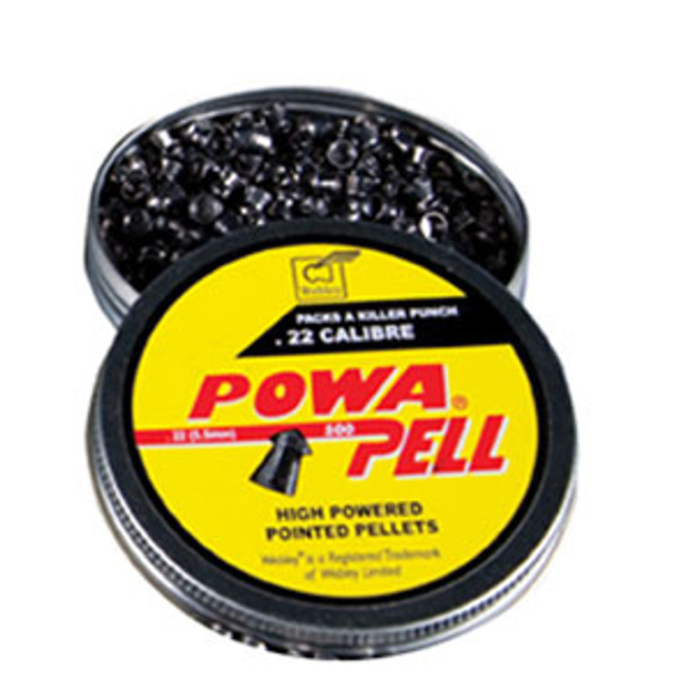 Webley Powa Pell Pointed Pellets