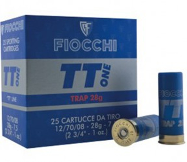 TT One Plastic or Fibre 28 gram Shotgun Cartridges