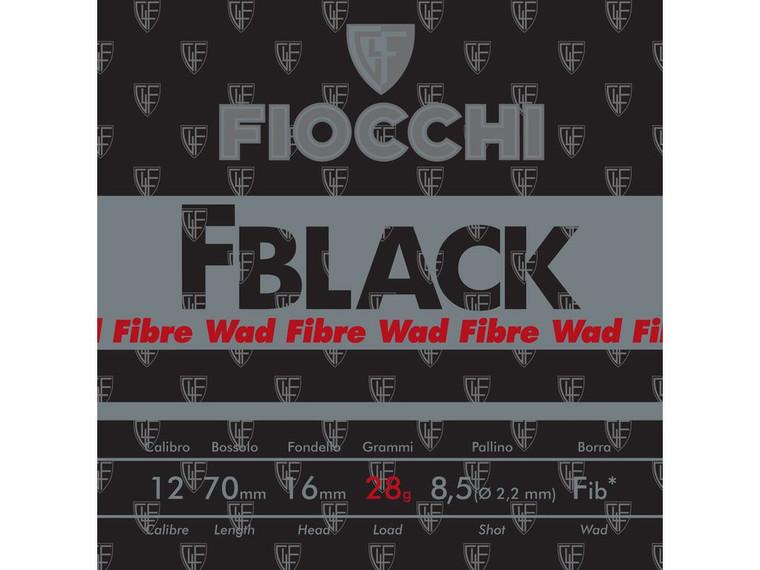 Fblack Plastic or Sporting Fibre 24 gram Shotgun Cartridges