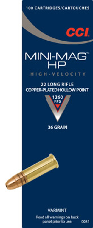 CCI Mini Mag Velocity Ammunition LR