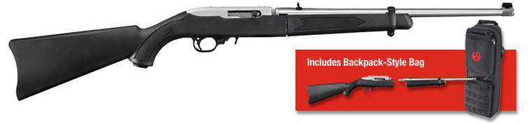 Ruger 10/22 Semi Auto Takedown Synthetic .22 Rifle