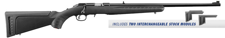 Ruger American .22 Bolt Action Synthetic Compact Rifle