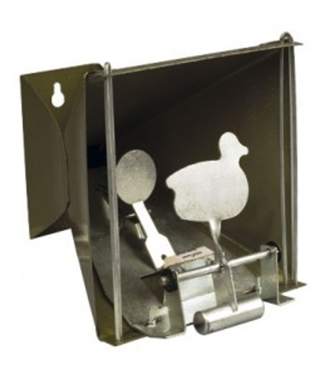 Pellet Trap with Duck Target