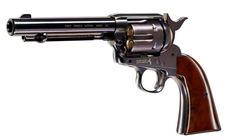 Colt 45 Peacemaker BB Pistol Blued