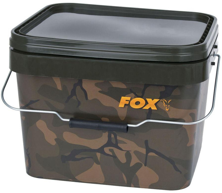 Fox Camo Square Carp Bucket