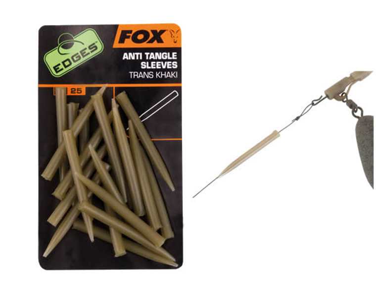 Fox Edges Anti Tangle Sleeves - Keen's Tackle and Guns