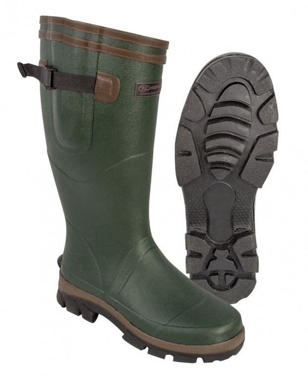 Highlander Moorland Wellington Boots (unisex)